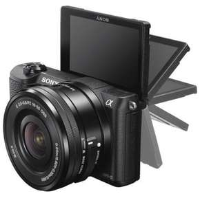 SONY A5100 includes a memory card