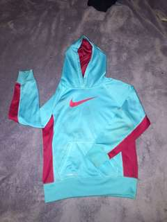 blue nike jumper
