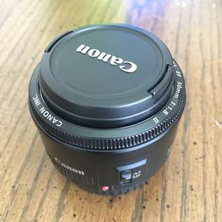 Canon 50mm f1.8. ll. Like New
