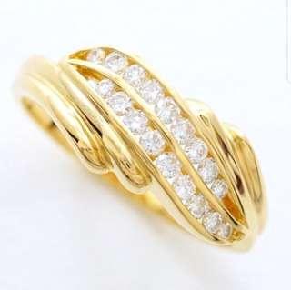 0.29 cts - 18k Diamond Ring