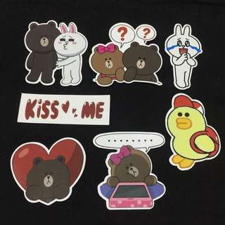 Big Line Friends Stickers