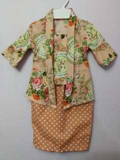 Baju kebaya untuk baby 6 month - 1 year old