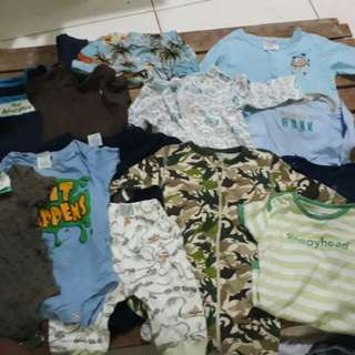 Baby Boy preloved clothes set