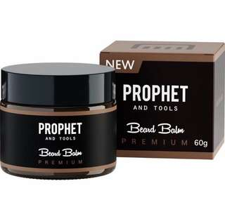 [IN-STOCK] Prophet and Tools 2 IN 1 Beard Balm and Wax Styler FOR MEN! Softens Beard Hairs and Mustache , Adds Mild Hold , Shine Booster and Healthier Beard Growth!m !