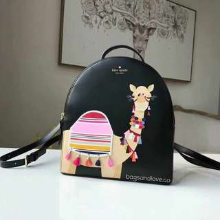 Kate Spade Camel Sammi Spice Things up Backpack