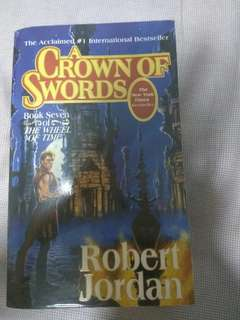 A crown of swords -  the wheel of time