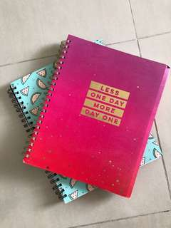 Thick Typo A4 notebooks