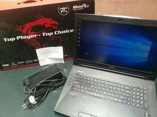 Jual laptop GAMING GT72 2QD