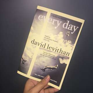 Everyday by David Levithian