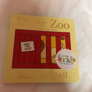 Dear Zoo Cardboard Baby Book
