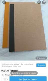 Muji Notebook , A5 Loose Leaf Paper , Single lined notebook & paddlepop hoodie