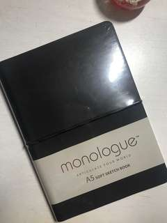 NEW Monologue A5 Sketch Book