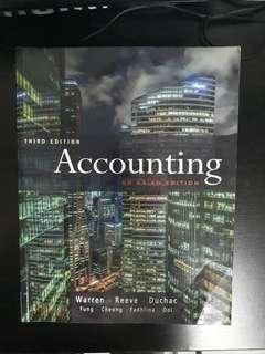 Accounting Textbook warren