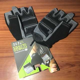 Weightlifting exercise gloves