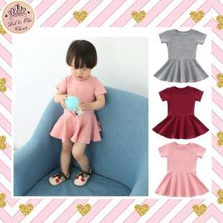 🎉NEW ARRIVAL! Baby & Kids Skater Dress