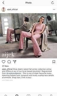 Pink jumpsuit - Aijek