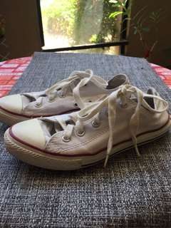 Original Converse White Shoes for Kids