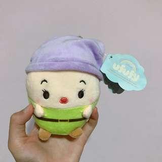 迪士尼ufufy雲朵娃娃 白雪公主小矮人