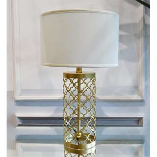 Intrinsic Gold Table Lamp