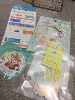 schedule手帳貼紙(包郵)