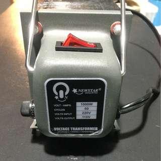 Newstar 1000W Step-down Transformer 220-110V