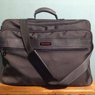 Samsonite Classic Messenger/Boarding Bag by Ace Luggage of Japan