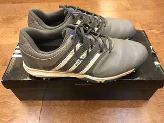 Adidas Men's Tour 360 X WD Cleated Golf ShoesP 2,000Grey/White/Bahia BlueSize 11.5 USCondition: 8.5/10Meetups: alabang, makati