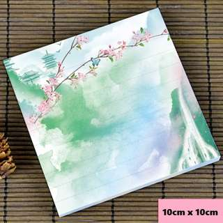 Beautiful waterfall scenic / watercolour notepad #3