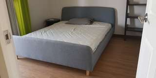 Great sale: Guest Room Bedframe. Rarely used!