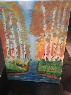 Painting Frameless