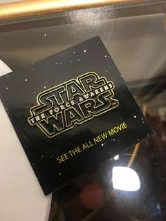 Star Wars Force Awakens Pin