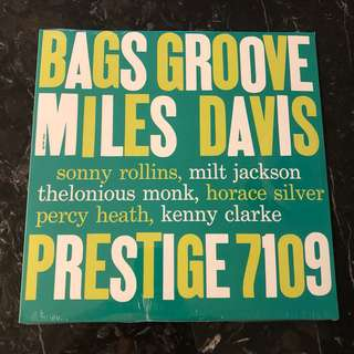 Miles Davis - Bags Groove. Vinyl Lp. New