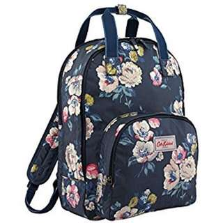 Cath Kidston Oilcloth Multi Pocket Backpack