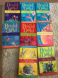 Roald Dahl story books - good bargain