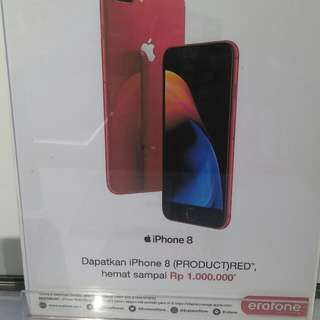 Apple iphone 8 plus red limitied edition