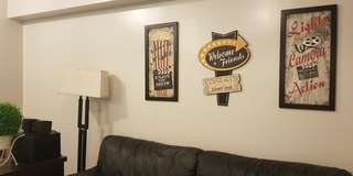 3-pc Musky Popcorn & Movie Wall Accent