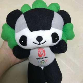2008北京奧運 晶晶 毛公仔 珍貴收藏