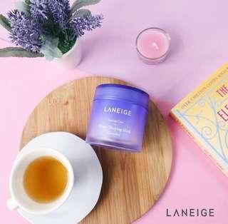 🆕[SG Instock] [Laneige] Lavender Water Sleeping Mask 15ml (Sample Kit)