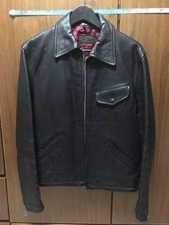 秋冬牛皮真皮皮褸 leather jacket