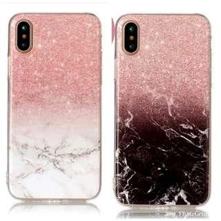 Glitter marble phone case MURMER