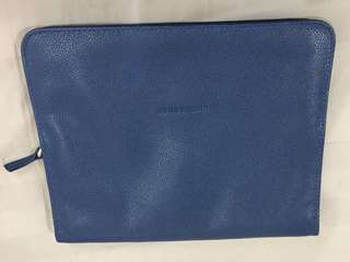 Long Champ Leather Clutch