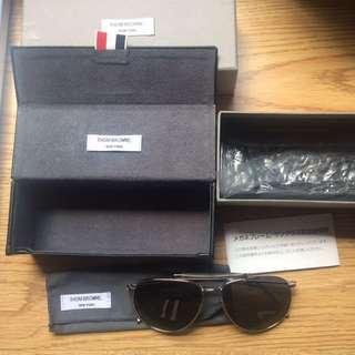 🚚 Thom Browne 太陽眼鏡 Tb015a 飛行墨鏡