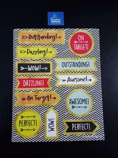 [INSTOCK] BN Aim High Motivational Stickers (Carson Dellosa)