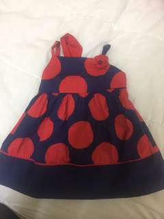 Baby Poney Polkadot Dress
