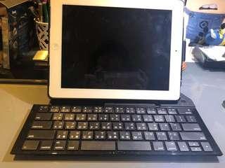 Portable Ipad wireless keyboard