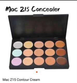 Mac Contour and concealer