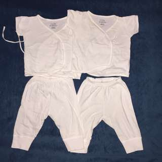 White Newborn set take all