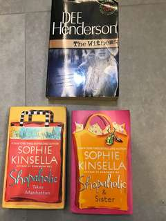 Books (package all three)