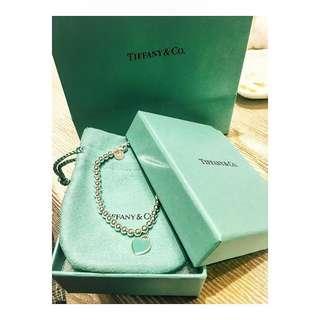 Return to Tiffany- Bead Bracelet