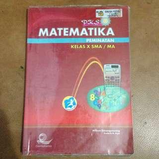 PKS Matematika Peminatan Kelas 10